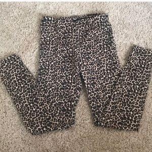 American Apparel Cheetah Leggings